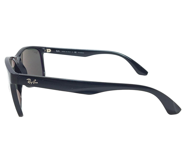 c234ebaef824 Amazon.com: New Ray Ban RB4232 601/9A Black/ Green Classic 57mm Polarized  Sunglasses: Clothing