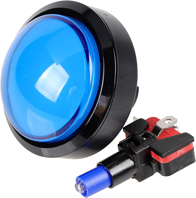 Illuminated Arcade Game Push Buttons w//Resetting Arcade Machine Replace 60mm