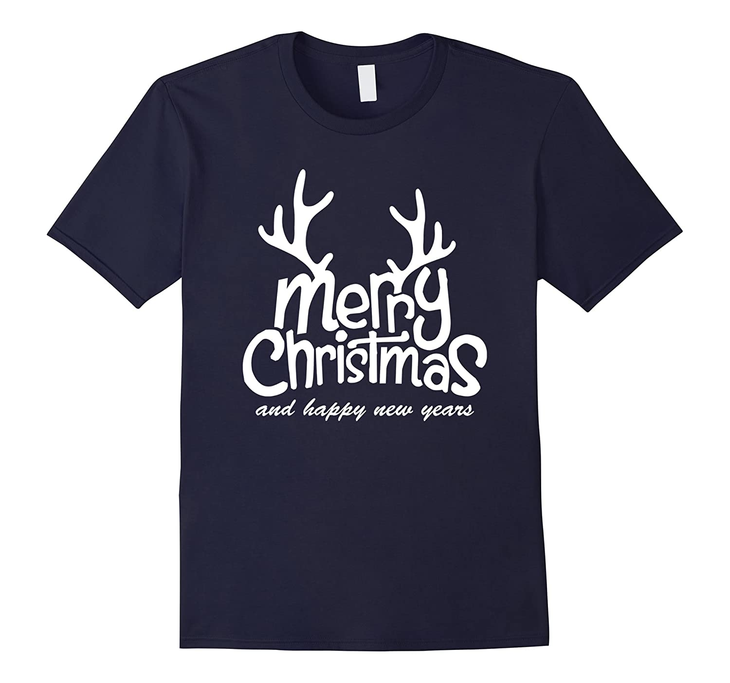 Merry Christmas And Happy New Year, Men Women Gift T-Shirt-CL