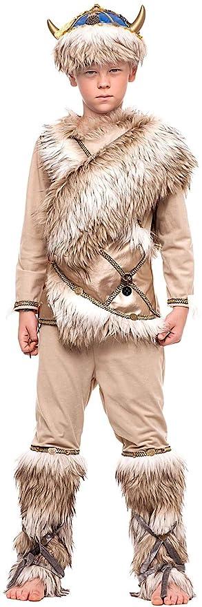 85d297f9a0f9 COSTUME di CARNEVALE da VICHINGO PRESTIGE BABY vestito per bambino ragazzo 1 -6 Anni travestimento