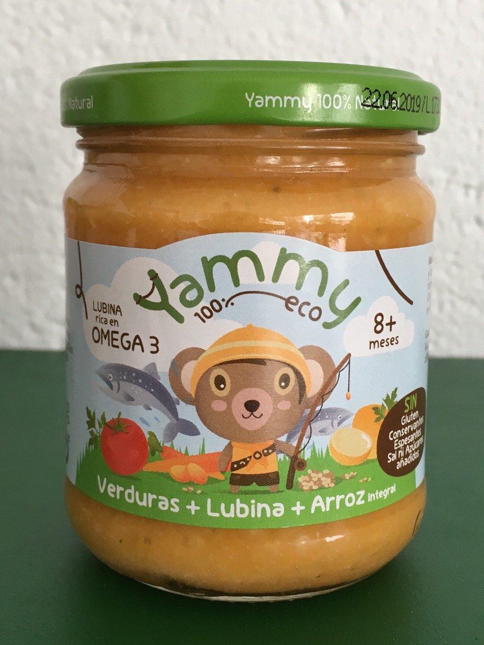 Yammy - Potito Ecológico de Pescado: Verduras+Lubina+Quinoa Pack 6 Unidades: Amazon.es: Alimentación y bebidas