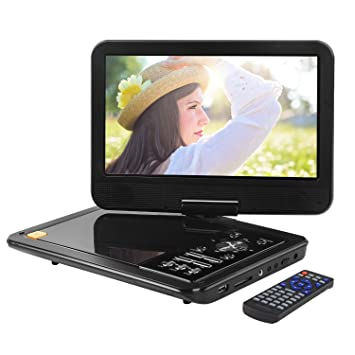 apeman 105 inch portable dvd player mobile mini car cd player for kids and traveling with