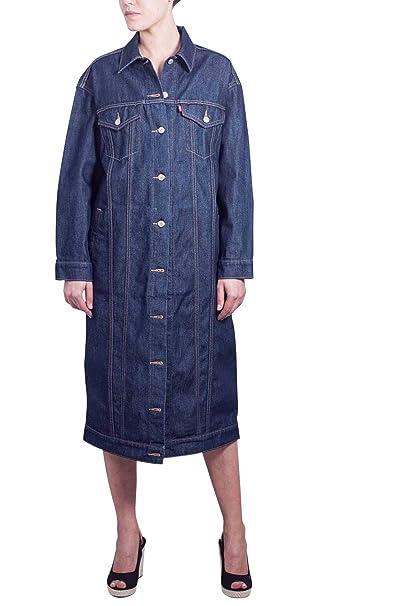 LEVIS Women - Extralong rinse trucker jacket - Size XS