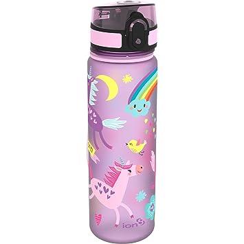 "Botella de agua Ion8 delgada a prueba de fugas ""Unicorns"", ..."