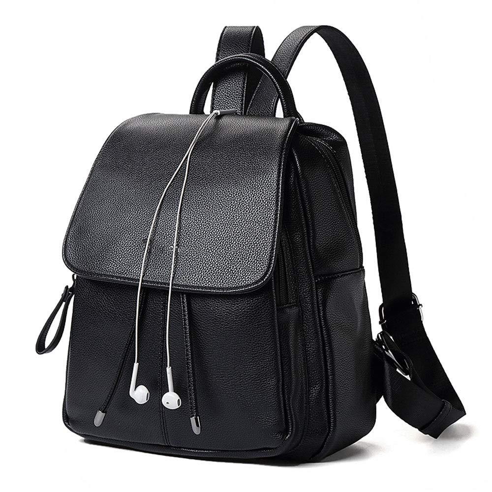 女性のバッグショルダーバッグヨーロッパとアメリカのファッションシンプルな女性のバックパックカジュアル大容量旅行バッグバッグ   B07NRR9TB5