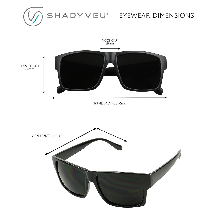 06900d8273 Amazon.com  ShadyVEU - Super Extremely Dark Black Square Retro Flat Top  80 s UV400 OG Eazy E Sunglasses (Glossy Frame
