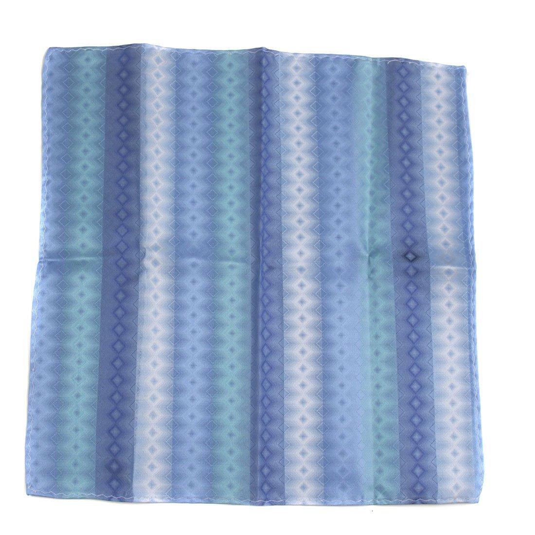 Blue Aficionado Silk Pocket Square