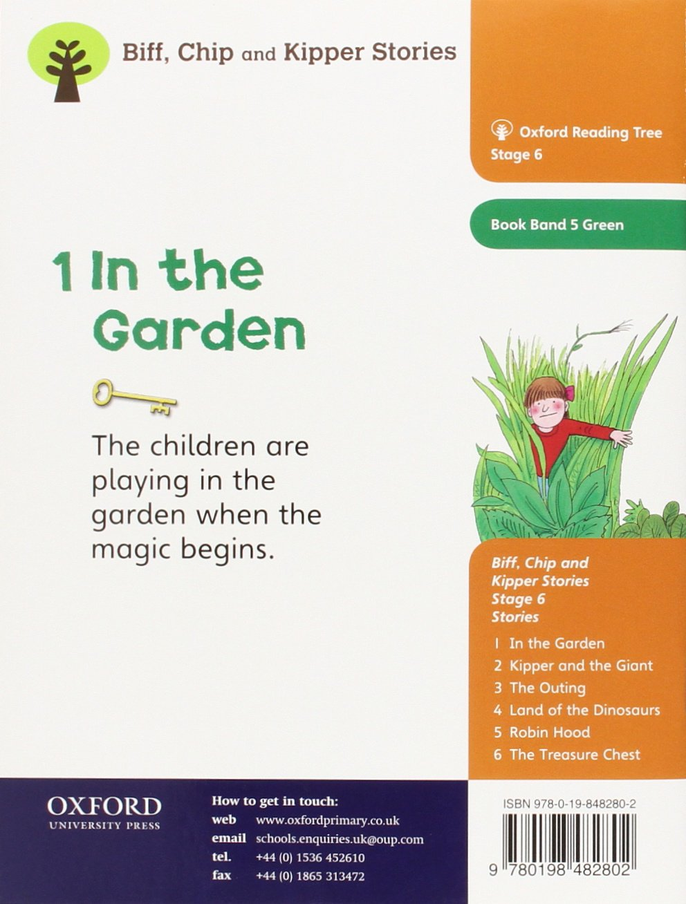 Oxford reading tree level 6 stories in the garden roderick hunt oxford reading tree level 6 stories in the garden roderick hunt 9780198482802 amazon books fandeluxe Choice Image
