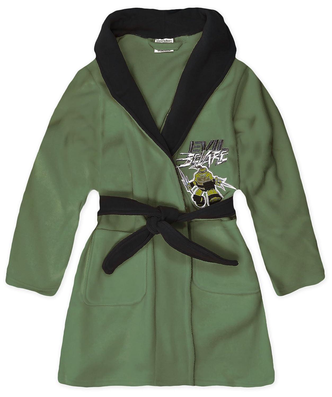 Amazon.com: Boys Teenage Mutant Ninja Turtles Dressing Gown Kids ...