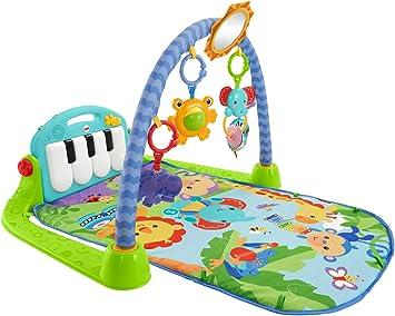 Fisher-Price Rainforest Piano-Gym - Manta de Juego parBebé (Mattel BMH49): Amazon.es: Juguetes y juegos