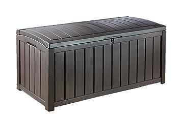 Keter Arcon Exterior Glenwood Capacidad 390 Litros Color Marron