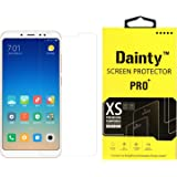 Dainty™ Tempered Glass Screen Guard Gorilla Protector for Redmi Note 5 Pro (Transparent)