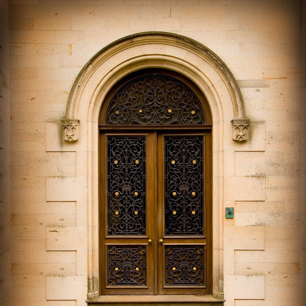 写真バックドロップ – Dunrobinの城ドア – 10 x 10 ft。 – 100 %シームレスなポリエステル   B00NWVCEOE