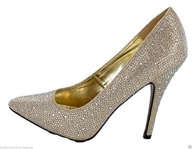 (BS12924) - New Mens Womens Drag Queen Cross Dresser High Heel Pointy Toe  Court