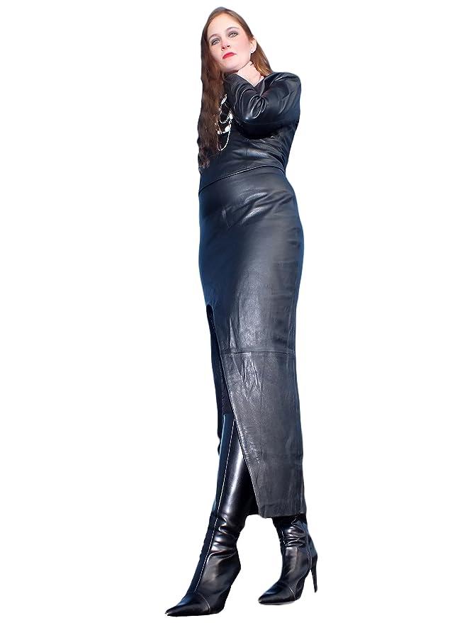 f0c03dd72905e8 Fetish-Design Jupe en cuir Taille XL noir: Amazon.fr: Vêtements et ...