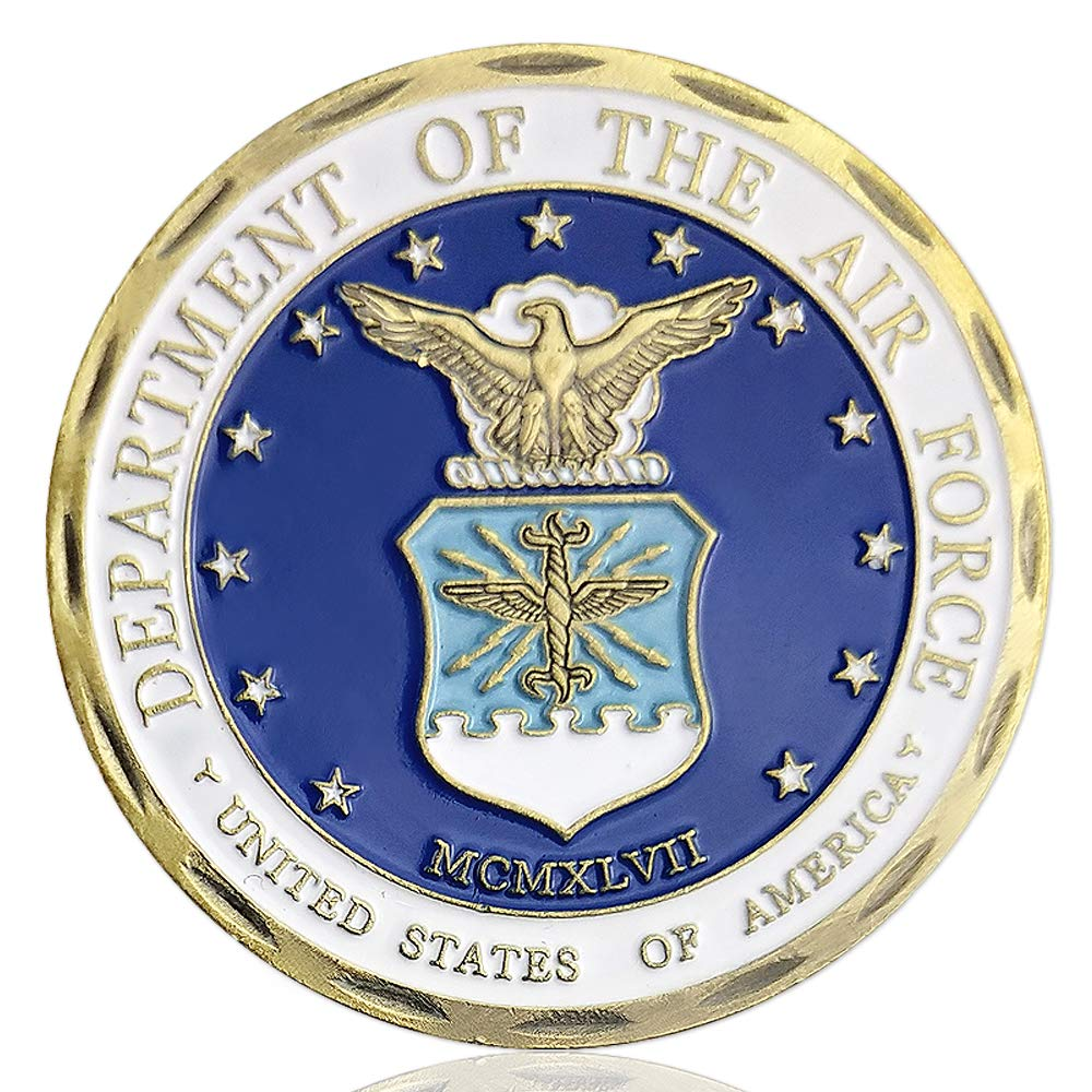 Air Force Military Challenge Coin USAF Core Values
