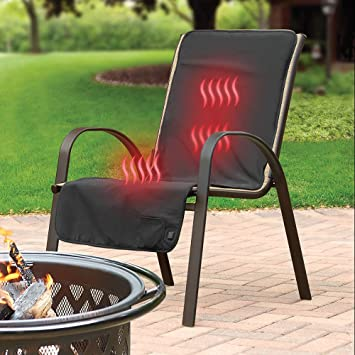 Gentil The Cordless Heated Patio Chair Cover