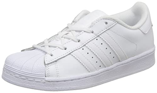 best value c4b9e ff0e7 adidas Originals Superstar C77154, Scarpe da Ginnastica Unisex - Bambini,  Bianco (Footwear White