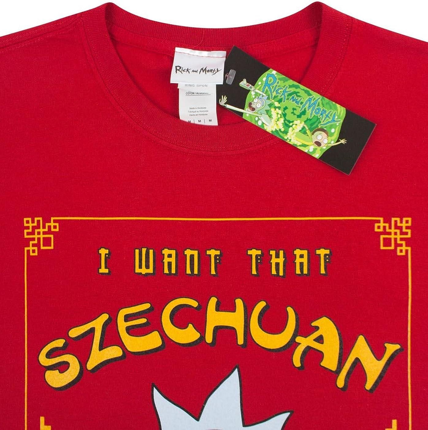 B07BR1DL1B RICK AND MORTY Pickle Rick Mr Meeseeks Citadel Szechuan Sauce Men's T-Shirt (S - XXL) 61oAe3cwK1L