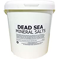 Hexeal DEAD SEA SALT | 10KG BUCKET | 100% Natural | FCC Food Grade