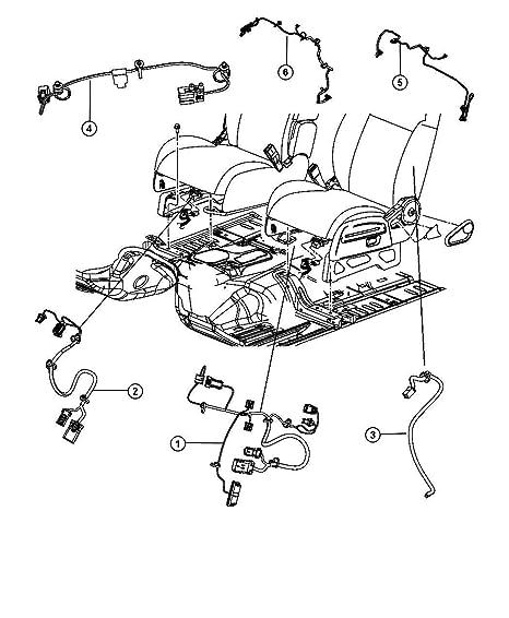 Amazon Com Mopar Performance 68071932aa Mopar Wiring Automotive