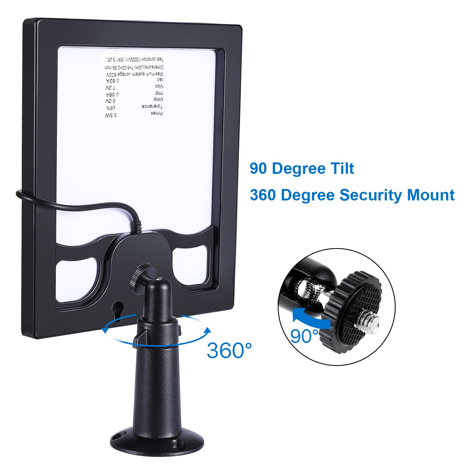 Skylety Solar Panel for Ring Spotlight Cam with Security