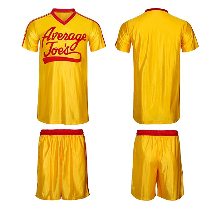 Amazon.com: weixinyuanst Dodgeball Joe s maillot amarillo ...