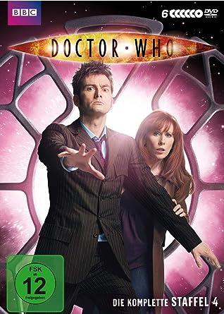 Doctor Who Die Komplette Staffel 4 6 Dvds Amazonde