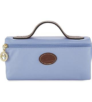 c0ffe7fc8b0b LONGCHAMP Le Pliage make-up bag Blue Mist  Amazon.co.uk  Beauty