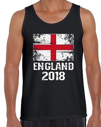 7fd01c7431c3e Amazon.com  Awkward Styles England 2018 Tanks for Men England Flag Tank Top  England Soccer  Clothing