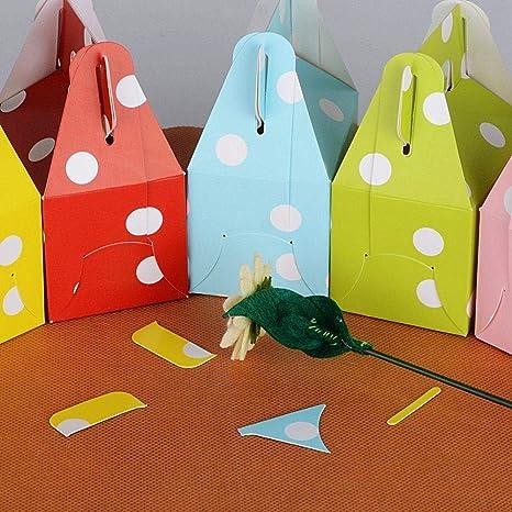 Depory 60pcs(7 * 5 * 5cm) Cajas de Caramelo Bombones Dulces ...