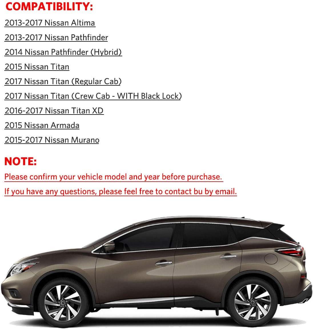 NEW OEM 2013-2017 Nissan Altima Pathfinder Passenger Side Interior Door Handle