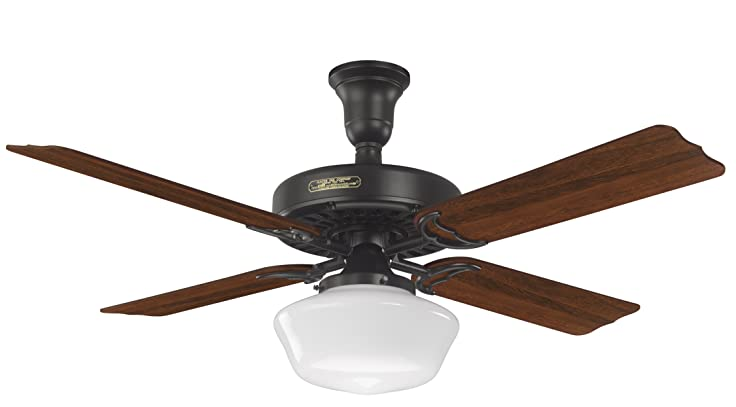 Hunter 23702 52 inch hotel original ceiling fan with adaptair hunter 23702 52 inch hotel original ceiling fan with adaptair satin black aloadofball Image collections