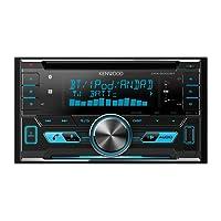 Kenwood DPX5000BT Doppel-Din-Receiver (Apple iPod-Steuerung, Bluetooth-Freisprecheinrichtung) schwarz