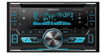 Kenwood Electronics DPX-5000BT - Radio para Coche (4 x 50 W, Pantalla