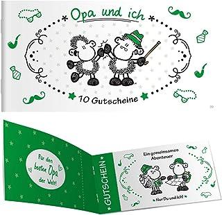 Sheepworld 45303 Lot DE 10 carnets de Bons en Papier