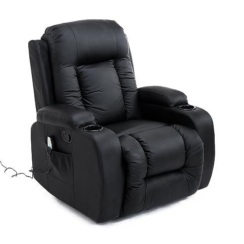 Sessel mit liegefunktion  Homcom Massagesessel Fernsehsessel Relaxsessel TV Sessel ...