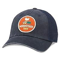AMERICAN NEEDLE Woodstock - Mens Raglan Bones Snapback Hat