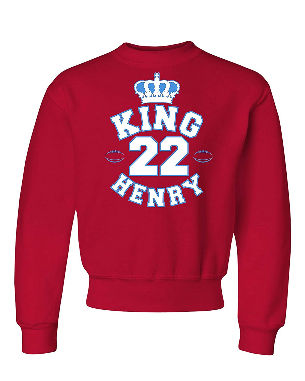 Go All Out Youth King Henry Tennessee Crewneck Sweatshirt