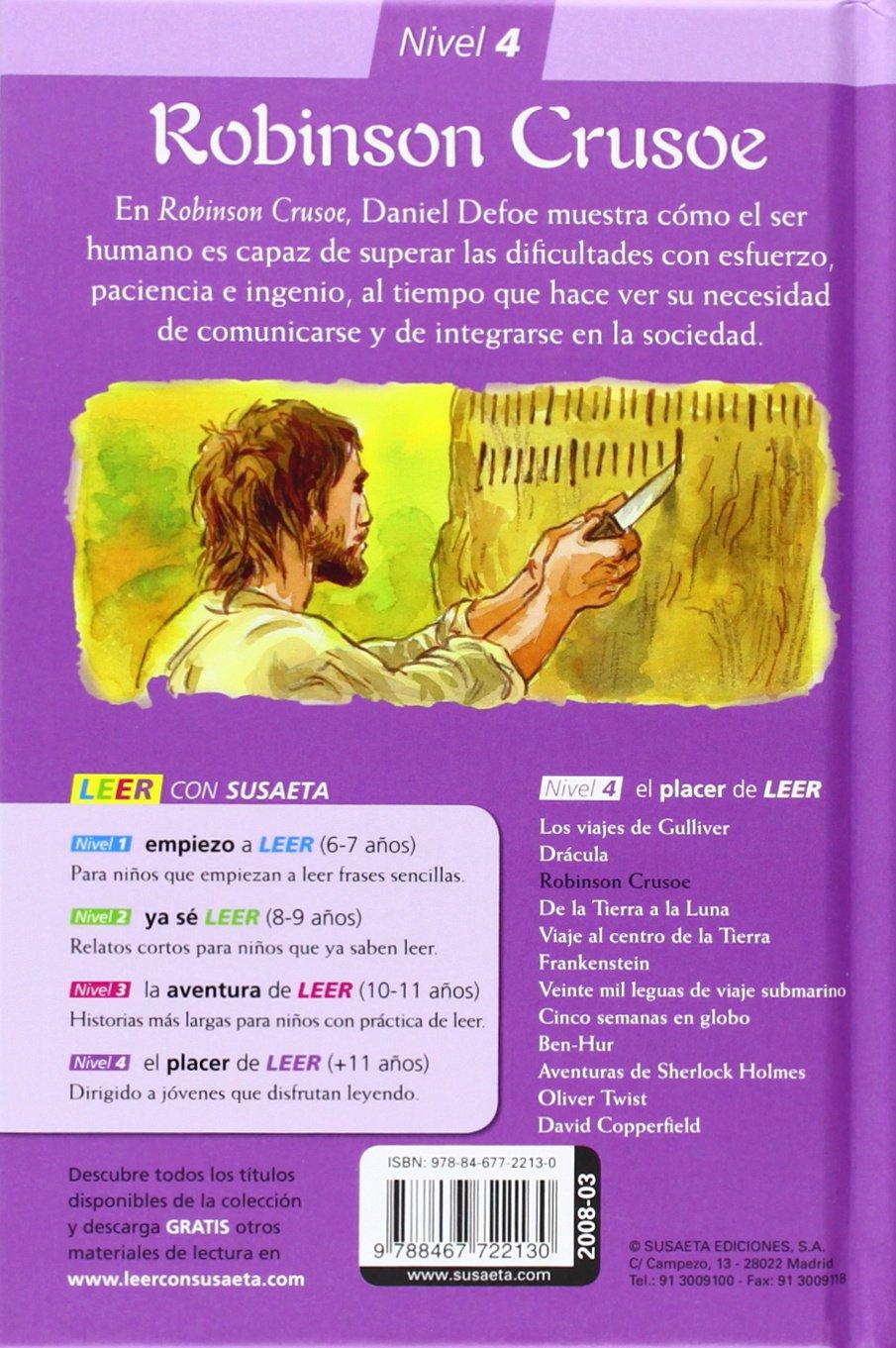 Robinson Crusoe Amazoncouk Daniel Defoe Francesc Ràfols