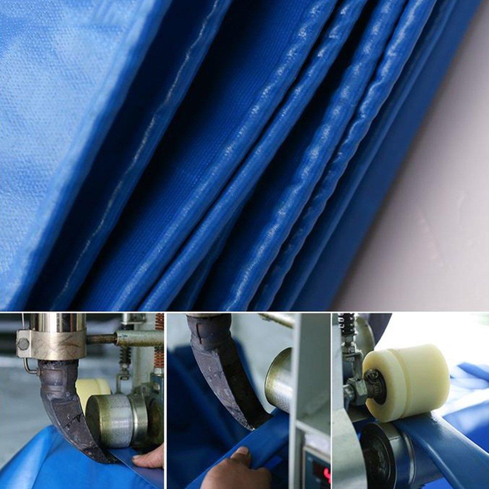 DYFYMXOutdoor Ausrüstung Ausrüstung Ausrüstung Plane, regendichte Sonnenschutzplane, LKW-Plane Schatten im Freien Staub- und Winddicht, blau, B07JCB7832 Tunnelzelte Kompletter Spezifikationsbereich 44ba84