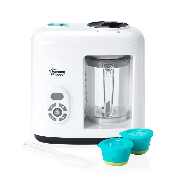 Tommee Tippee - Licuadora de vapor para alimentos infantiles 84005501