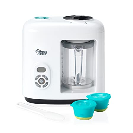 Tommee Tippee Baby Food Steam Blender, White-Best-Popular-Product