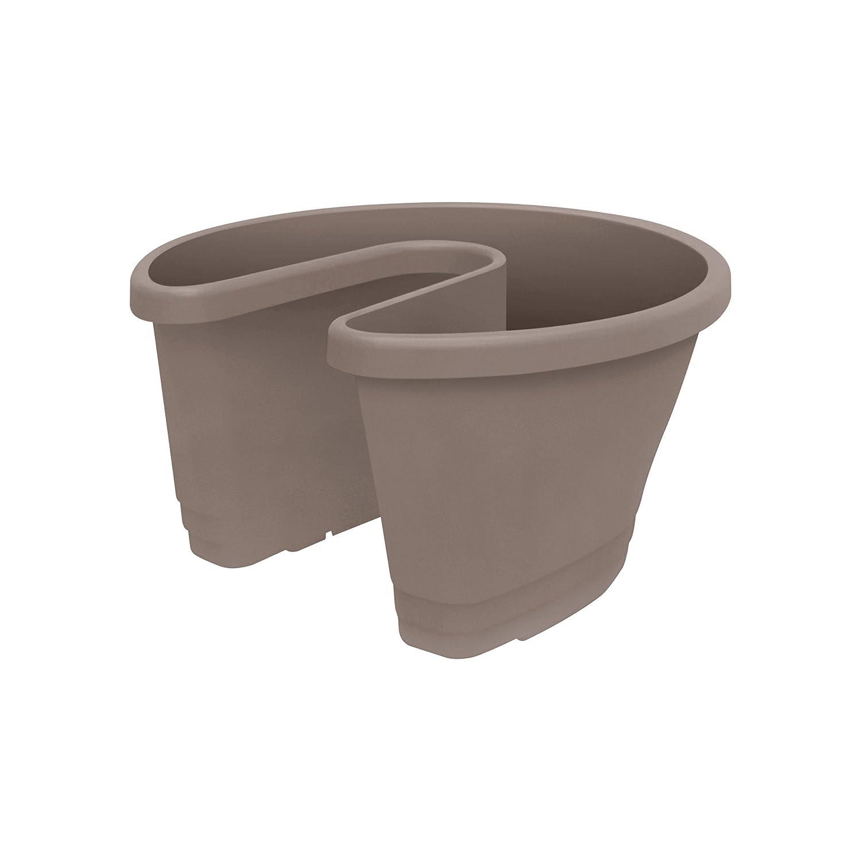 Elho corsica door stopper flowerpot - taupe 7562003641000