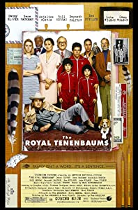 THE ROYAL TENENBAUMS MOVIE POSTER 2 Sided ORIGINAL 27x40 WES ANDERSON