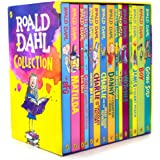 Roald Dahl: 15 books collection pack: The Witches, Matilda, The BFG, Going Solo, the Giraffe the Pelly and Me, The Magic Finger, James and the Giant ... Mr Fox, Esio Trot, Charlie Chocolate Factory,