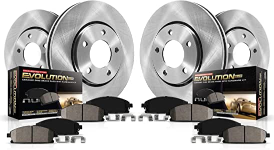 KOE1501 Autospecialty 1-Click OE Replacement Brake Kit