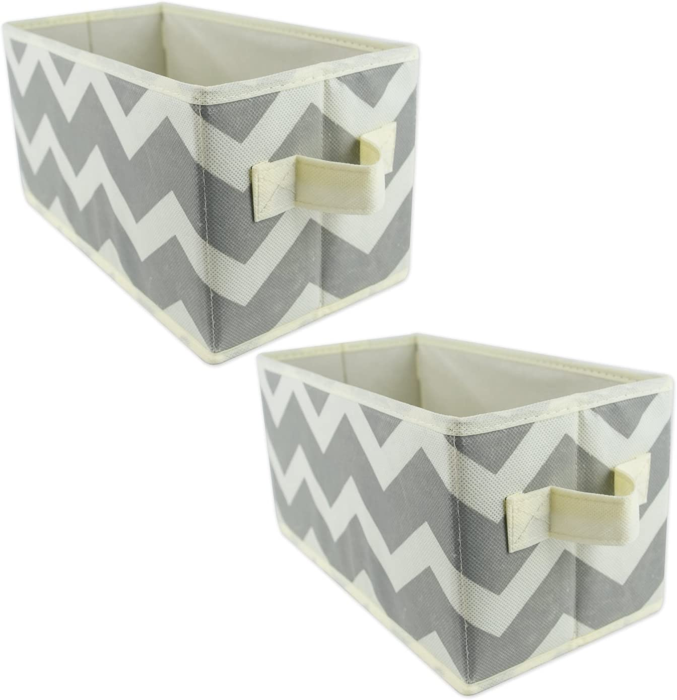 DII Fabric Storage Bins for Nursery, Offices, & Home Organization, Containers Are Made To Fit Standard Cube Organizers (11x5.5x5.5