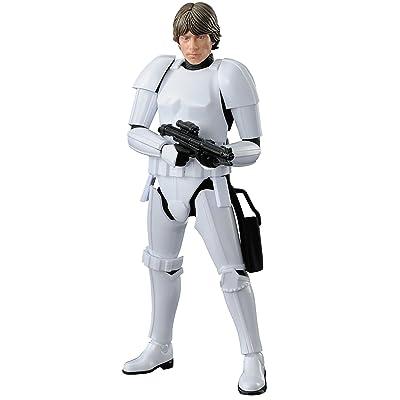 "Bandai Hobby Star Wars 1/12 Plastic Model Luke Skywalker Stormtrooper ""Star Wars"": Toys & Games"