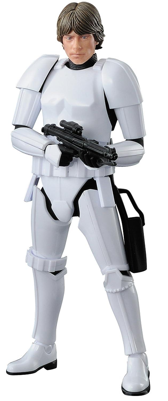 Bandai Hobby Luke Skywalker Stormtrooper Character Line 1/12 Star Wars, White Bluefin Distribution Toys BAN225755